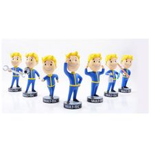 Gaming Heads Fallout 4 Vault Boy Bobbleheads Series 1 PVC Action Figure