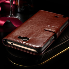 Luxury Vintage Leather Wallet Stand Case For Samsung Galaxy Note 2 II N7100 Phone Bag with Card Holder(China (Mainland))