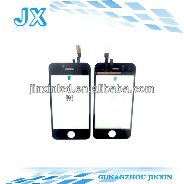 50pcs/lot wholesale touch screen digitizer replacement for iphone 3gs glass(China (Mainland))