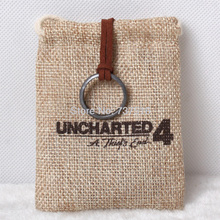 New Uncharted 3 Sir Francis Drake Circle Anime Game  from Collector's Edition Super Cool Fashion Jewelry(China (Mainland))