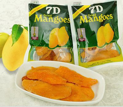 New store promotions:BUY 3 GET 4! 100g Imported Candy Instant Snack Dried Fruit Food Philippine Dried Mango Snacks(China (Mainland))