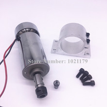 Buy Sale 52mm cnc spindle 300w ER11 chuck DC 12-48v 300W Spindle motor cnc Engraving Machine + clamp EN115# free for $48.20 in AliExpress store