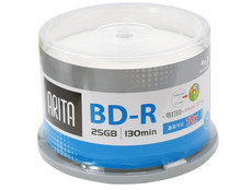 100 Pack 25GB BD-R 2-10X Speed High Grade Ritek/Arita Printable Bluray Blank Disc(China (Mainland))