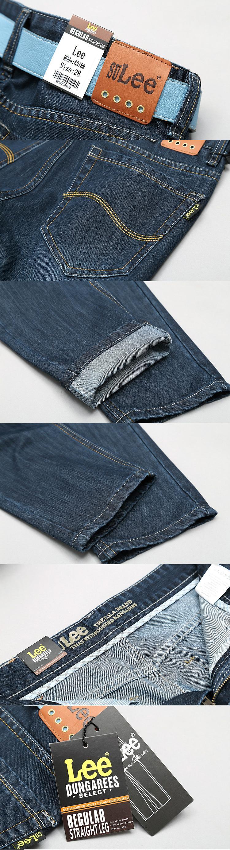 Скидки на SU LEE jeans мужчины зимние джинсы Высокого качества Бренда мужская брюки мужские Большой размер Брюки моды жан робин джинсы мужчин брюки
