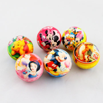 Hot Sale 6.5cm Children Toy Ball Bouncy Foam Ball Sponge Rubber Ball Baby Toys Soft Ball Multicolor(China (Mainland))