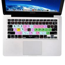 Functional Final Cut Pro X Shortcut Silicone Keyboard Cover Skin for Macbook Air 13 inch, Pro 13, 15, Retina 13 15, US&European