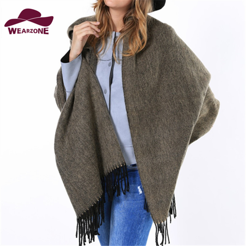 new za Brand women long Scarves womens ponchos 2015 Solid color bufandas cuadros Pashmina winter wool Scarves soft Thick shawlsОдежда и ак�е��уары<br><br><br>Aliexpress