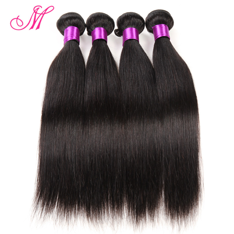 4 pcs Peruvian Virgin Hair Straight  7A Unprocessed Virgin Hair Bundles Sexy Formula Hair Peruvian Straight Human Hair Weaving