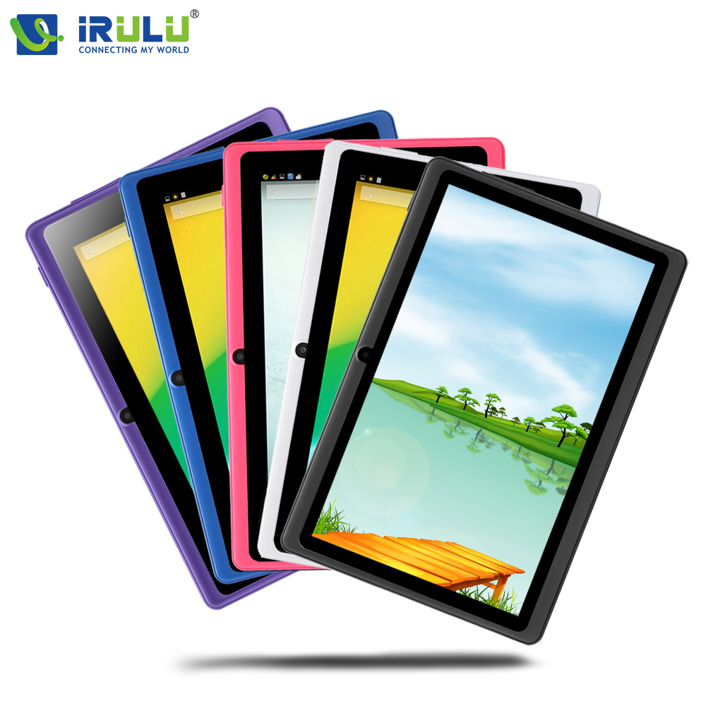 iRULU eXpro X1 7 Tablet PC Quad Core Android 4 4 Tablet 8GB ROM Dual Cam