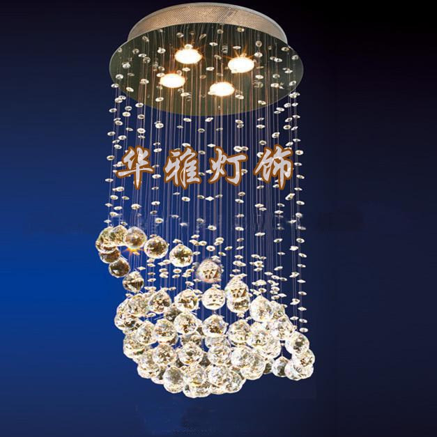 Special lamps modern lighting pendant crystal chandelier bedroom lamp study B210(China (Mainland))