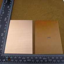 Wholesale 10pcs/lot PCB One-Side Single Side Copper Clad 70x100x1.2mm Single PCB Board(China (Mainland))