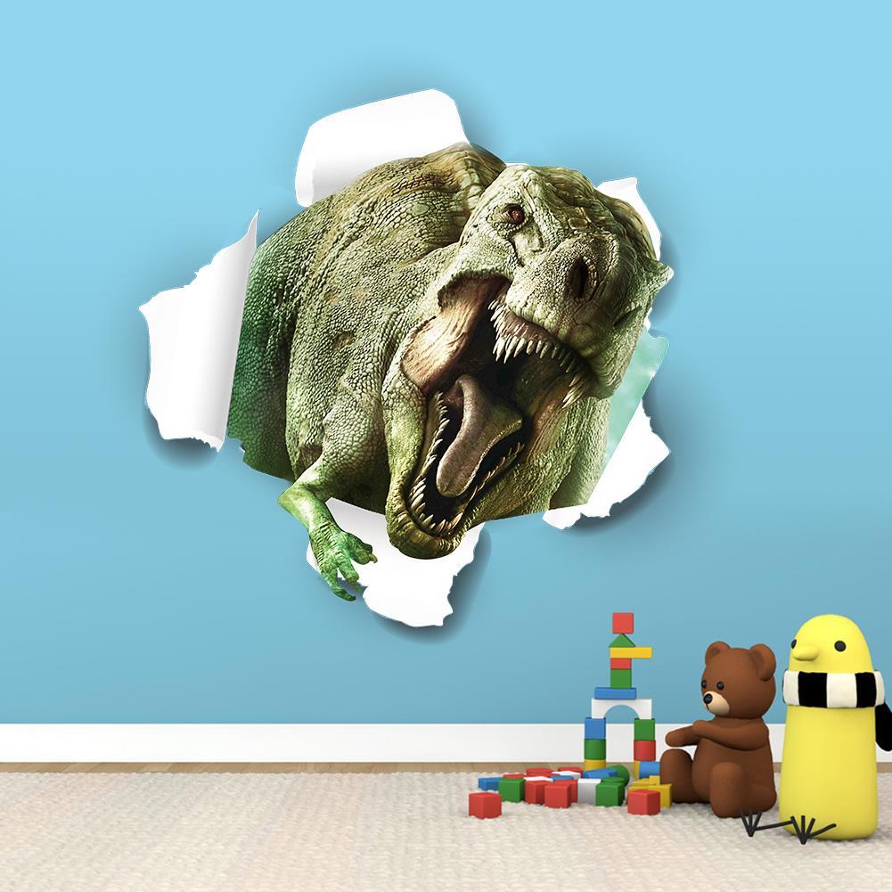 3d fantastische dinosaurier wandaufkleber f r kinderzimmer - Wandtattoos dinosaurier ...