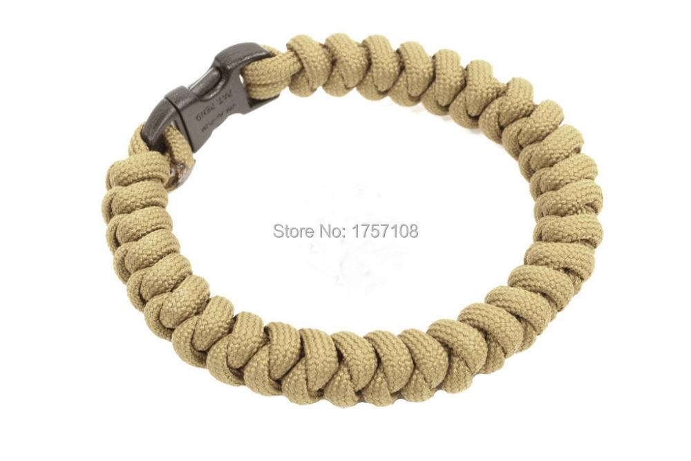 snake knot paracord bracelet, snake weave custom camping paracord bracelet(China (Mainland))
