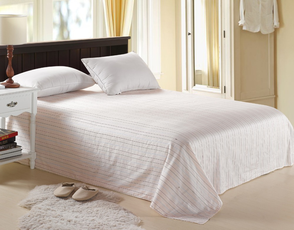 High quality 100 egyptian cotton bed sheets single bed for Good quality single beds