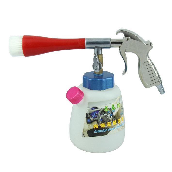 Wave shield car interior cleaning gun tornado cleaning gun pneumatic high-pressure car wash car wash gun