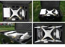 DJI phantom 4 standard High quality aluminium case protection for DJI 3 Phantom Quadcopter RC Helicopter Aerial FPV trolley case(China (Mainland))