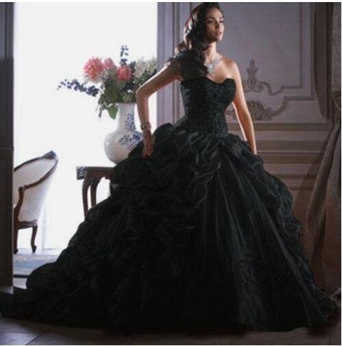 High Quality Black Corset Ball Gowns-Buy Cheap Black Corset Ball ...