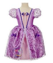 Летнее платье для девочек; нарядные платья для девочек; костюм принцессы Белоснежки, Золушки, Спящей красавицы, Софии для костюмированной в...(China)