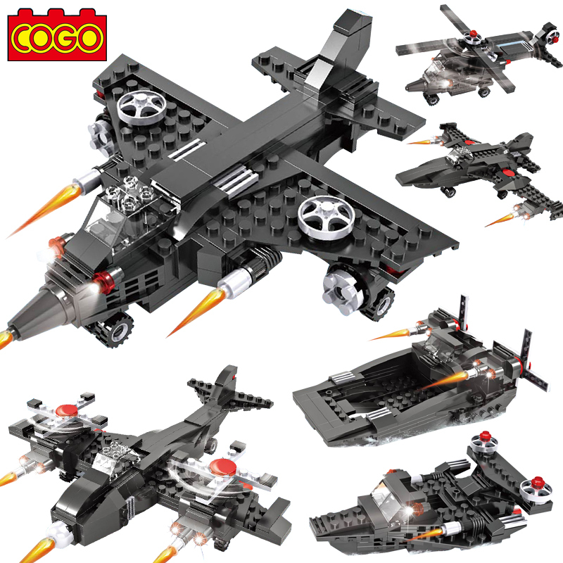 hot 3 1 military plane fighter assembly Children Educational Toys gift building blocks Compatible lego New - Love me tender,love sweet store
