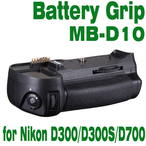 Vertical Battery Grip for Nikon D300/D300s/D700 MB-D10 with AA Battery Holder