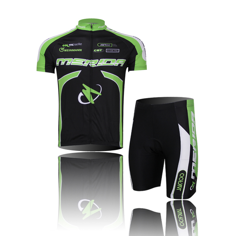 2015 MERIDA Team Sportwear Cycling Jerseys short sleeve Cycling clothing bicycle bike jersey or Cycling jersey sets
