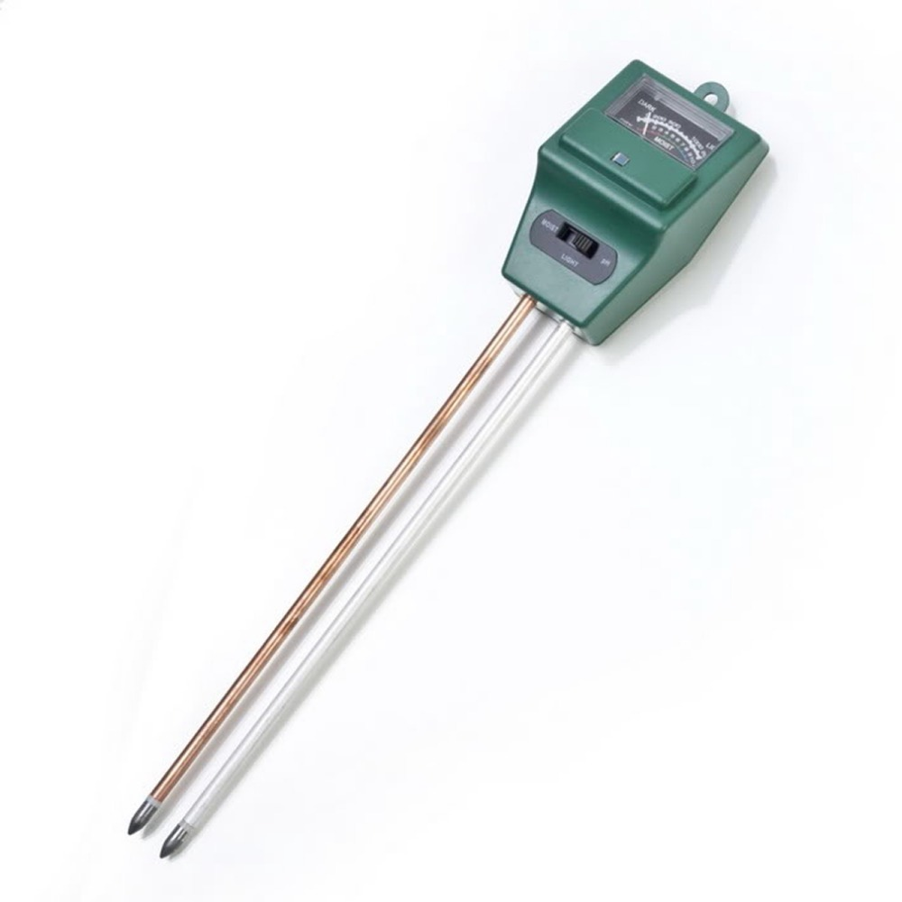 3 in 1 PH Tester Soil Water Moisture Quality Light Test Meter for Garden Plant Flower Free shipping(China (Mainland))