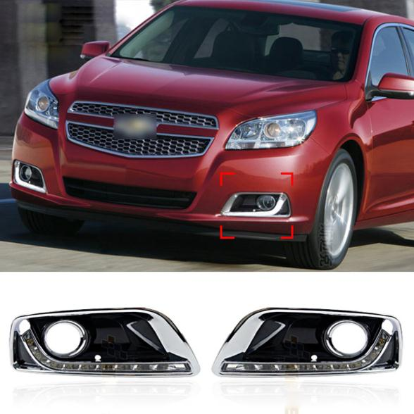 8 LED Car styling DRL For Chevrolet Malibu 2013 2014 2015 Daytime running lights High quality<br><br>Aliexpress