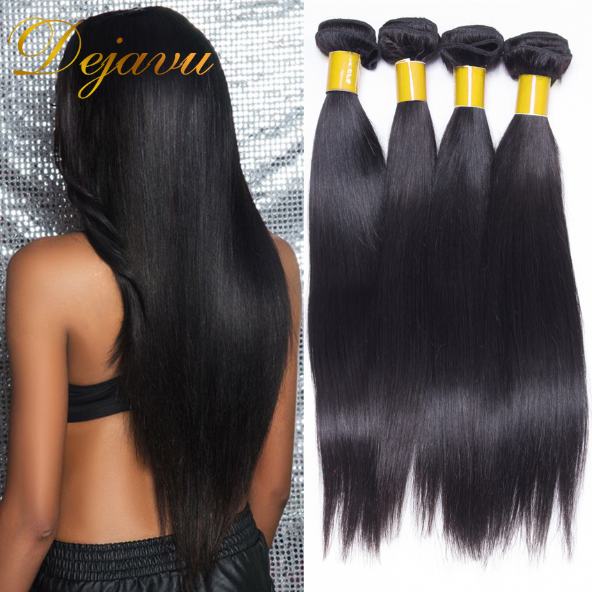 Brazilian Virgin Hair Straight 4 Pcs 7A Virgin Unprocessed Human Hair Brazilian Hair Weave Bundles Mocha Hair Brazilian Straight