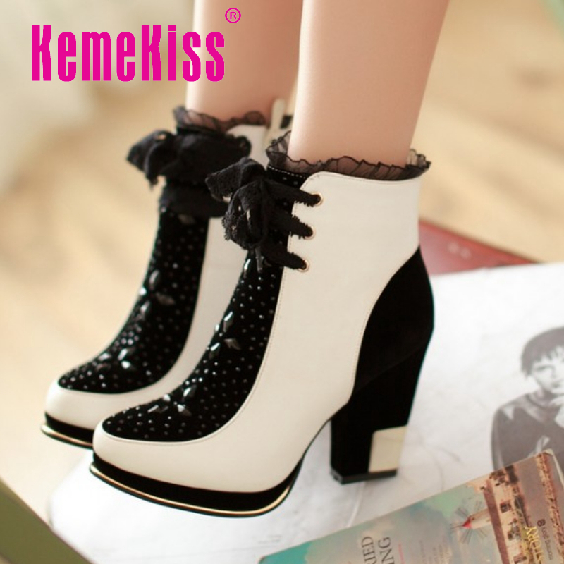 CooLcept Free Shipping Ankle Half Short Boots Women Snow Fashion