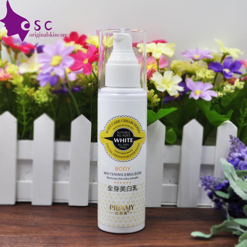 whitening cream whole body lotion neck knee leg body whitening skin care product(China (Mainland))