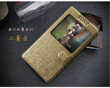 New View Window For Elephone P8000 Case PU Leather Flip Cases Cover phone 5 Colour For Elephone P8000 Luxury accessories