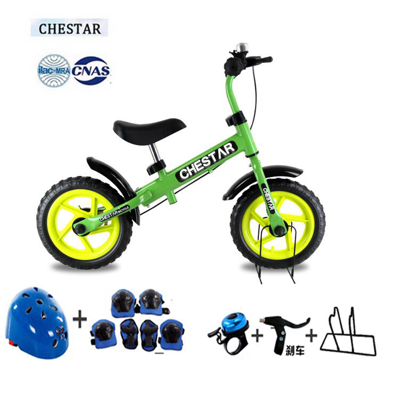 Фотография High Quality CHESTAR 12 Inch Baby Balance Bike With Brake And High Carbon Steel Frame And EVA Wheel, SG Certification,8 color