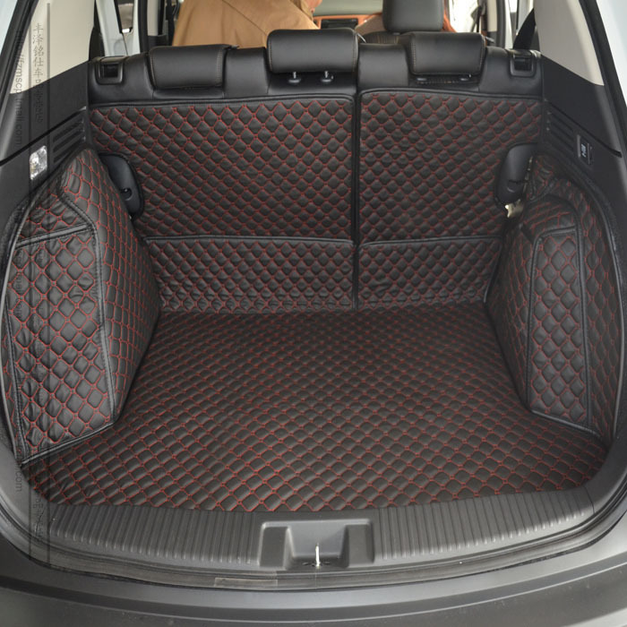 car trunk mats for XRV surrounded by the whole green PU leather boot of the pad after the warehouse(China (Mainland))