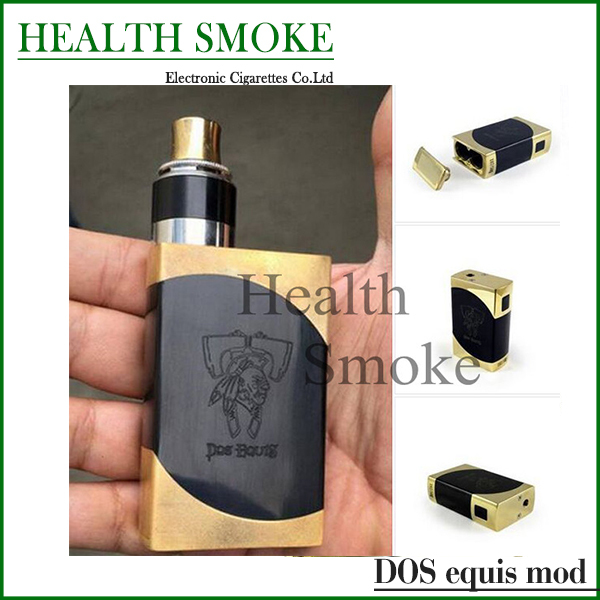 Hot sell 2015 Dos Equis Box Mod high quality upgraded box mech mod fit 18650 battery 510 thread mod kit(China (Mainland))