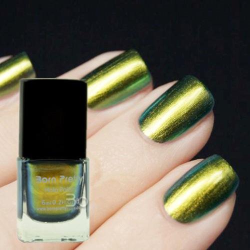6ml Born Pretty Chameleon Polish Nail Polish Varnish Nail Art Tool (Black Base Color Needed) #218(China (Mainland))