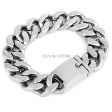 2014 new popular stainless steel 316L Steel Blue Knights men's bracelets (length: 24cm, width: 20mm weight: 165G)