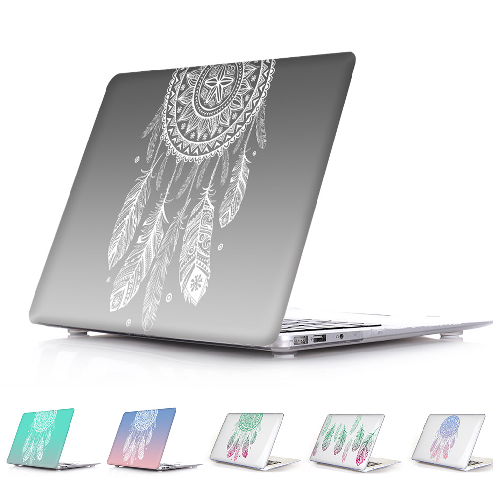 Macbook Air Cover Pattern ~ Amazing unique dream catcher feather pattern air