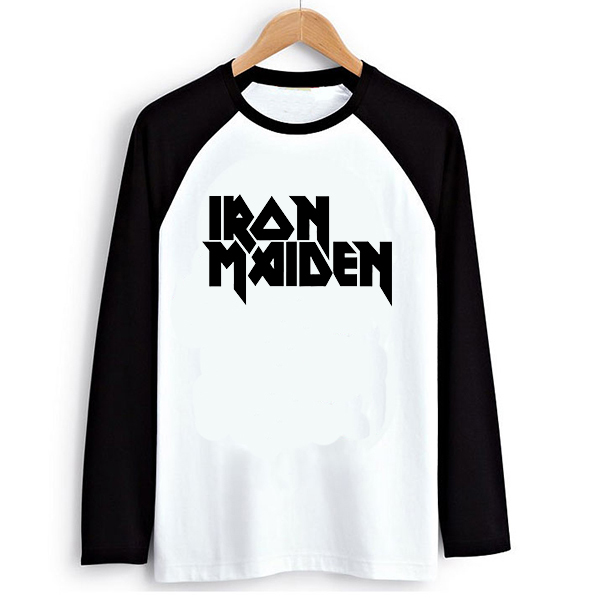 Iron Font Letters Iron Maiden Lettering Print
