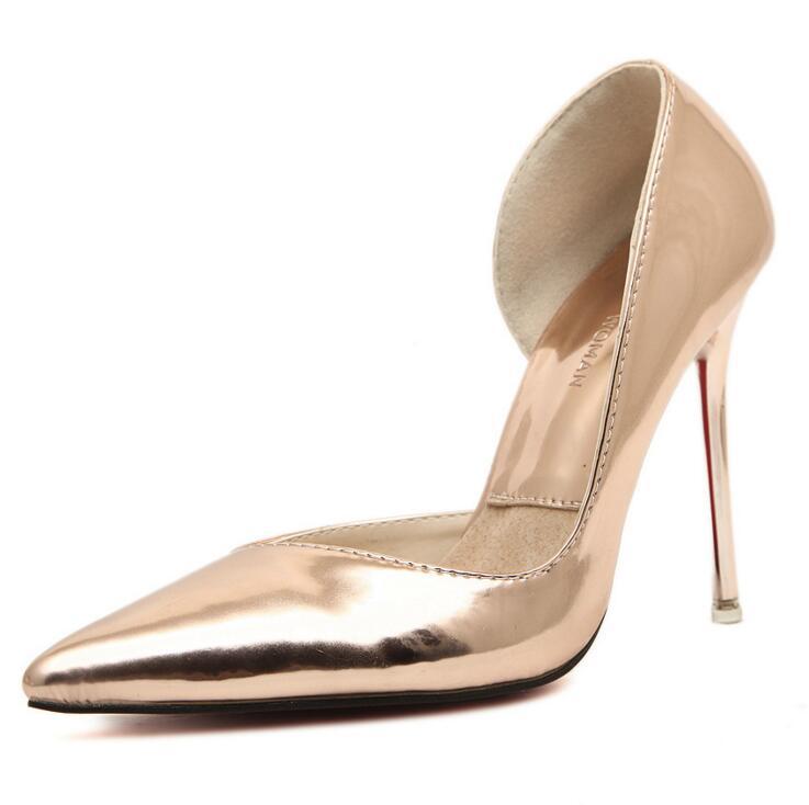 2016 new european fashion shoes high heel