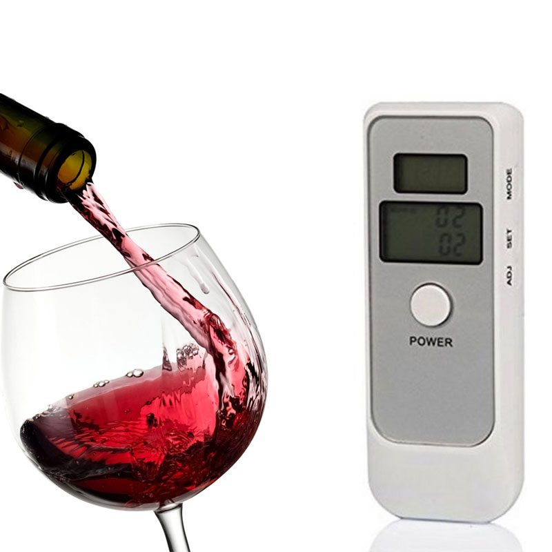 Digital LCD Pocket Alcohol Breath Tester Analyzer Breathalyzer Breathalyser Detector Test Details Portable Alcohol Detector(China (Mainland))