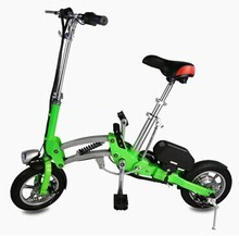 12inch 1 second folding ebike very mini model electric bicycle