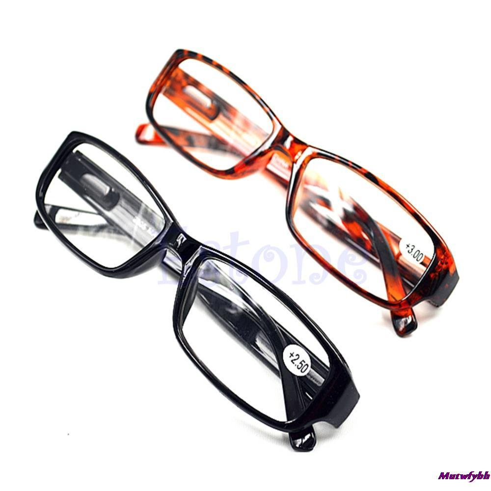 Free Shipping Comfy Reading Glasses Presbyopia 1.0 1.5 2.0 2.5 3.0 Diopter Black Brown New(China (Mainland))