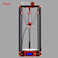 2017 LCD Diy FLSUN 3d Metal Printer Large Printing Size 3d Printer Delta Kossel 3d Printer