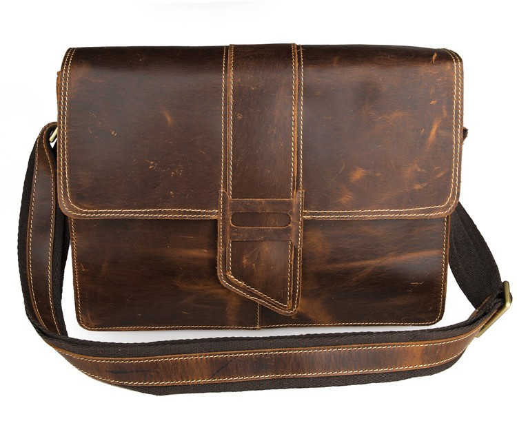 Lowest Proce Small Bulk 5Pcs Lot Wholesale High Quality Genuine Vintage Leather Messenger Bag Flap Women