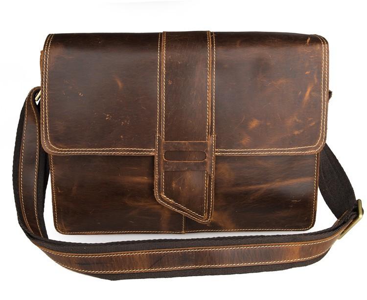 Lowest Proce Small Bulk 5Pcs Lot Wholesale High Quality Genuine Vintage Leather Messenger Bag Flap Women