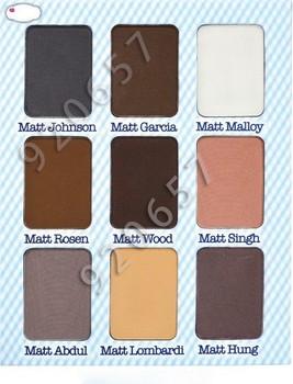 4 PCs NEW Top 9 colors Charming Cute Long-Lasting Makeup Eye Shadow eyeshadow palette shadow glitter Cosmetics Nude Tude thebalm