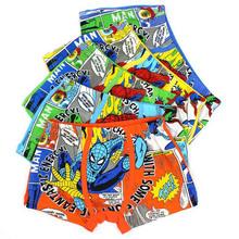 kids panties Spiderman boys underwear cartoon Boxer Briefs Fashion Children's cotton underwear panties Boy shorts