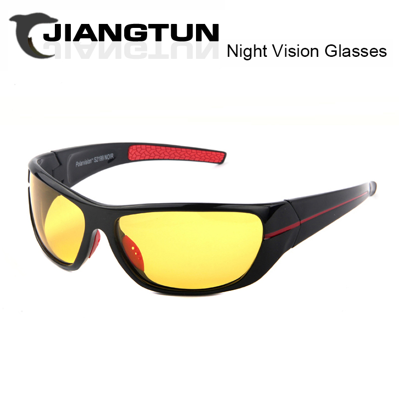JIANGTUN Driving at Night Anti-high Beams Men/Women Fashion Polarized Sunglasses Outdoor Enhanced Light At Rainy Cloudy Fog Day(China (Mainland))