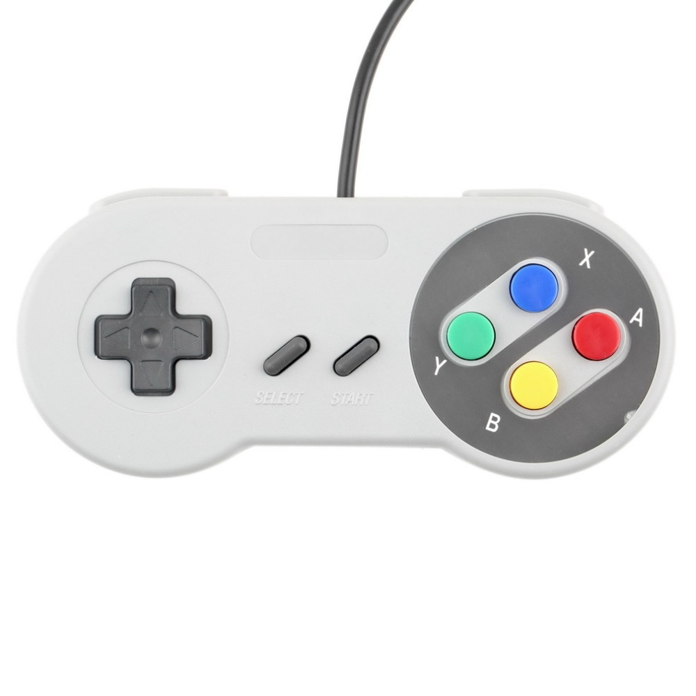 1 x Retro Super for Nintendo SNES Game USB Controller for PC for MAC Controllers SEALED