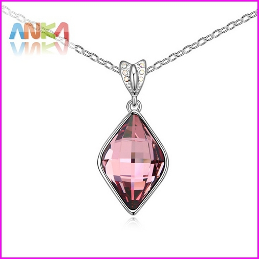 2015 Special Offer Trendy Women Collares Mujer New Crystal Drop Necklace Made With Swarovski Elements Free Shipping #102839(China (Mainland))